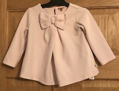 Girls Ted Baker Top In Pink Size 12-18 Months
