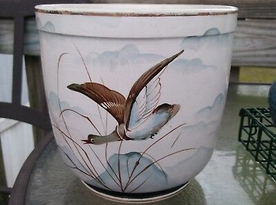 Antique  Jardiniere Planter. 1875- 1900, Rare, Hand Painted. Ludwig Wessel