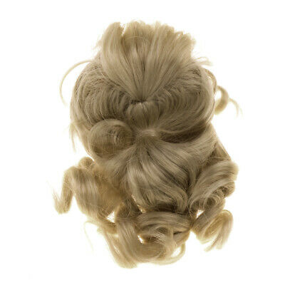 Doll Ponytail Wig Gold Hair for 1/6 BJD LUTS MSD DOD SD DIY Hairpiece Making