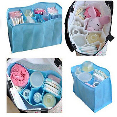 Portable Baby Diaper Nappy Changing Organizer Insert Storage Mother Bag Liner