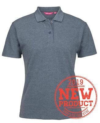 Jb's wear Ladies 210 Cotton Blend Casual Polo Shirt with 2-button Placket UPF Pr