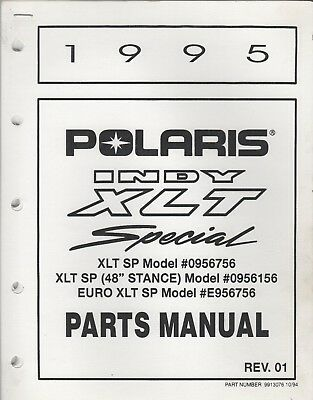 1982 POLARIS TXL Indy & Centurion Indy Snowmobile Parts Manual