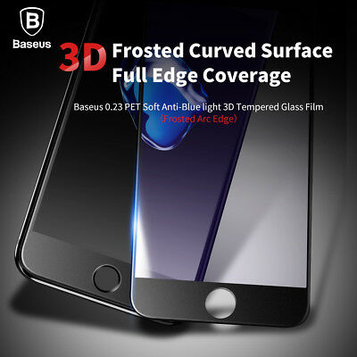 3D Curved Full Coverage Tempered Glass Screen Protector Apple iPhone X 7 8 Plus