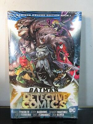 Batman: Detective Comics: the Rebirth Deluxe Edition Book 1 Hardcover Trade DC~