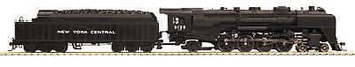 MTH 80-3127-1 New York Central NYC 4-8-2 L-4B Steam Loco #3125 w/ PS3 HO Scale
