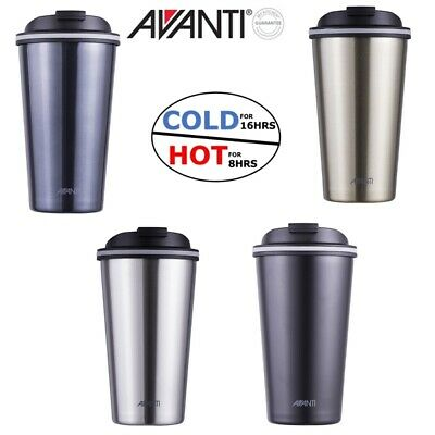 Avanti Go Cup 410ml Double Wall S/Steel Insulated Cup