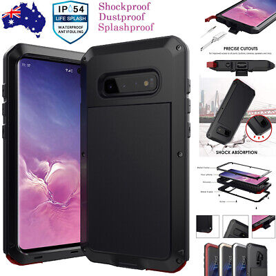 Heavy Duty Shockproof Metal Hard Case Cover For Samsung Galaxy S9 S8 Plus Note 8
