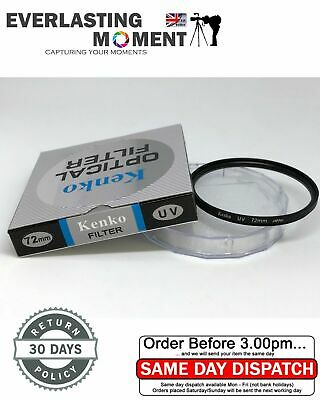 Kenko 72mm UV Filter Lens for Pentax Canon Nikon Olympus All 72mm lens