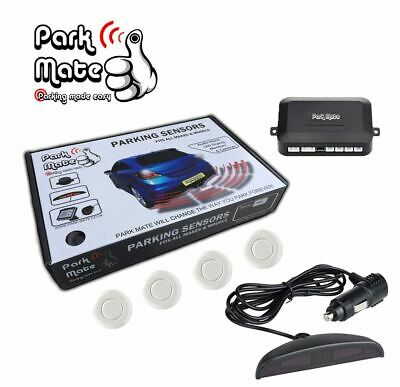 Ford Focus Park Mate PM225 Met White Rear Parking Sensors Wireless LED Display