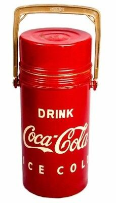 Cylindrical Shape Coca Cola Soda Bottle Antique Old Vintage Cooler HB 0108
