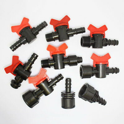 Irrigation Valves Tap Off Take Adaptor Garden Connector Switch Fit 13mm ID Hose