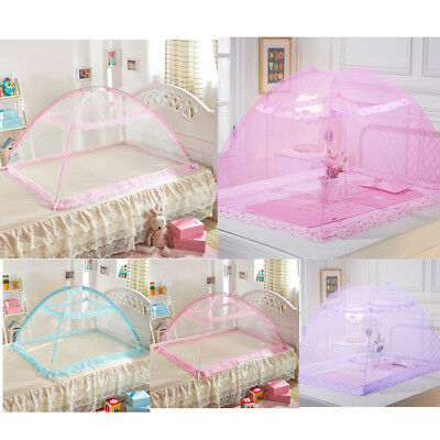 Baby Mosquito Net Foldable Installation Free Heightening Bottomless Children Bed