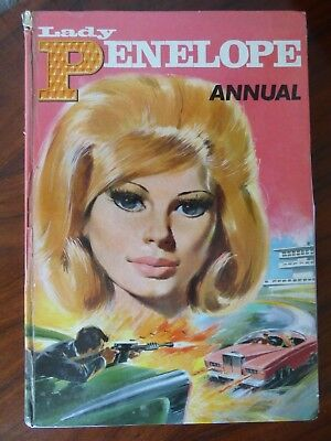 Lady Penelope Annual from 'Thunderbirds' 1966 Fair Condition Price Not Clipped