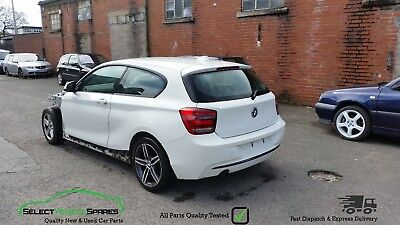 2013 BMW 1-SERIES F20 F21 116I Sport White 3-Door Breaking Spares ...