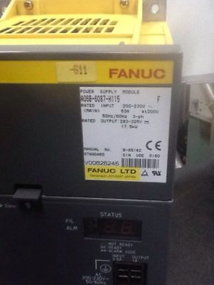 Fanuc Power Supply Module A06B-6087-H115