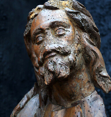 Late 18th Century Carved Italian Statue of Christ