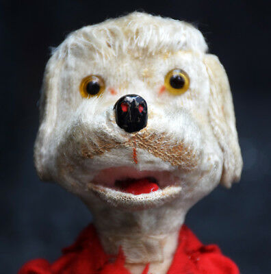 Vintage German Wind up Dog Toy in perfect working condition