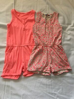 2x Girl Jumpsuits age 8/9