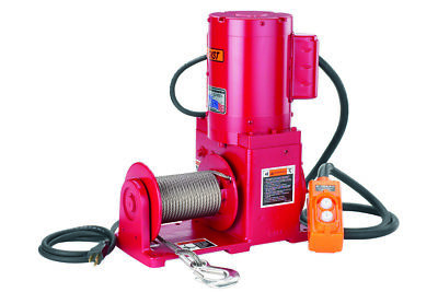MILITARY WINCH  THERN 4777 w/ REMOTE & CABLE 2000 LBS. 1/2 PRICE SALE