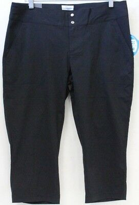 *NEW* Columbia Women's Zephyr Heights Woven Capri Active Pants Omni-Shield