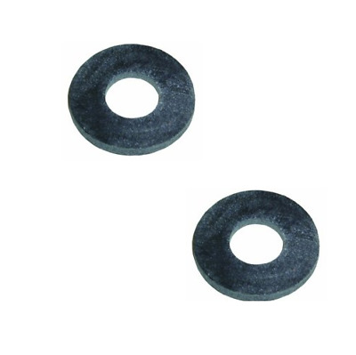 Hot Water Bottle Stopper Washer 2PK Rubber Washers 20mm ext Dia 9mm int Dia