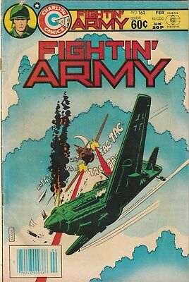 Fightin' Army  Number 162. Charlton Comics 1983.