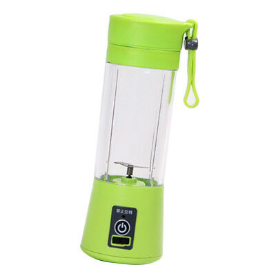 Portable Juicer Blender Outdoor Travel Personal USB Mixer Juice Cup Green 3S
