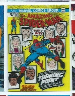 2015 Marvel 3-D covers 14 Amazing Spider-man #121