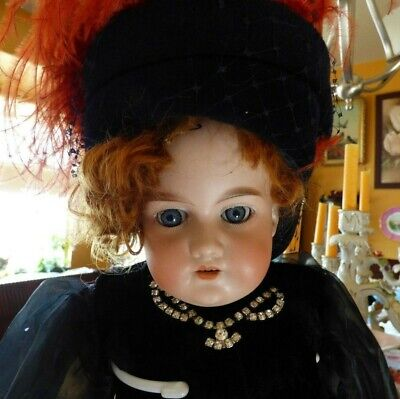 """SUPERB 25"""" EARLY CA 1894 Antique Armand Marseille Doll 370 AM 51/2 DEP MUST SEE"""