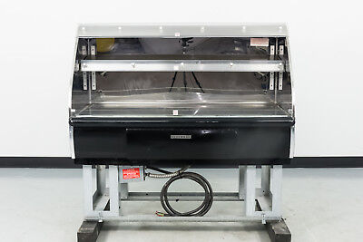 "Used Hussmann HEDN-02-4 48"" Self Serve Merchandiser Warmer"