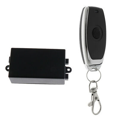 Single Button Garage Door Opener Remote Control Black