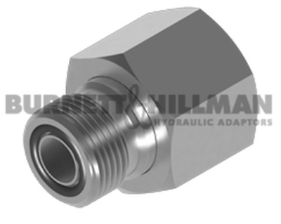 Burnett & Hillman ORFS Male x orfs Swivel Female Hydraulic Adaptors