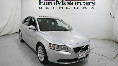 Volvo S40 2.4i volvo s40 silver black leather roof 09 10 11 used 2.4l automatic fwd