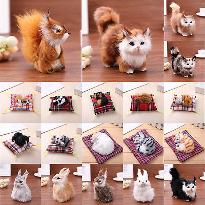 Cute Plush Stuffed Toys Simulation Sound Rabbit/Dog/Squirrel/Cat Kids Doll Gift