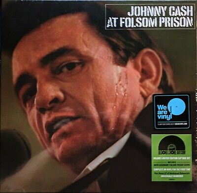 JOHNNY CASH Live At Folsom Prison 5-LP Box Vinyl RSD 2018
