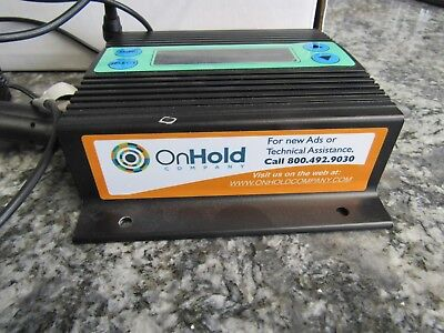 NOS OnHold Company On Hold Company Systems Control Box