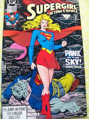 Action Comics Featuring Superman 674 DC 1992 Stern McLeod Rodier