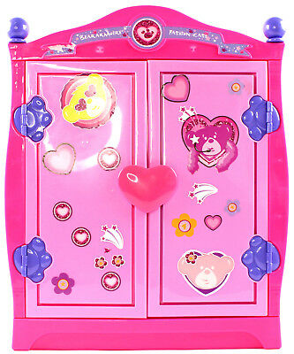 Build A Bear Beararmoire Fashion Case Closet Wardrobe Case Armoire Pink  0276FP