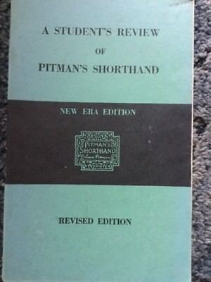 Vintage book pitmans shorthand rapid course 1950s 300 vintage students review of pitmans shorthand new era 1960 pb book fandeluxe Choice Image