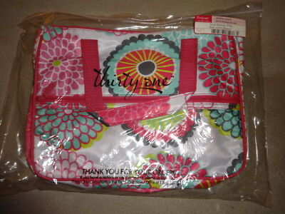 Thirty-One Gifts Thirtyone 31 True Beauty Bag BRAND NEW RETIRED Bubble Bloom