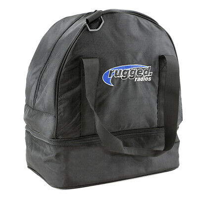Rugged Radios Helmet Bag Racing Off Road Motorcycle Zip-Up Cover Carrying Case