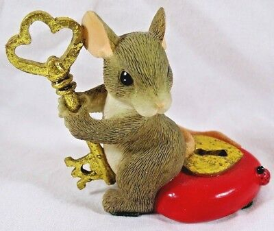 Charming Tails Figurine You Hold the Key to My Heart