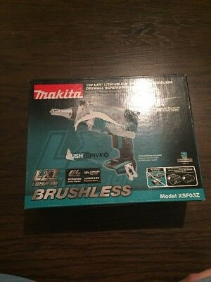 Makita XSF03Z 18V LXT Lithium‑Ion Brushless Cordless Drywall Screwdriver (NEW)