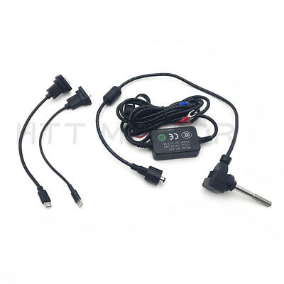 12V Waterproof USB Port Motorcycle Mobile Phone GPS Power Supply Charger Socket