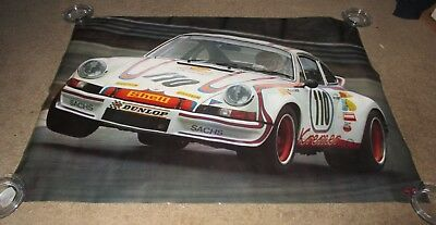 "Porsche-Carrera-Original 1973 Scandecor 27"" X 39"" Poster"