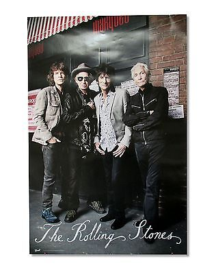 "The Rolling Stones ""band"" Wall Poster New Official With Free Sticker Included!"