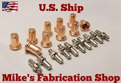 20 PC electrodes & nozzles for Lincoln Electric 20 plasma cutter K2820-1