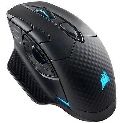 Corsair Dark Core RGB Gaming Mouse Black Wired/Wireless 16000 DPI CH-9315011-AP