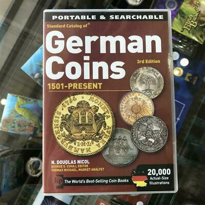 New KRAUSE Catalogue of German Coins 1501-2011 3rd Edition CD/DVD