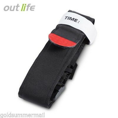 outlife Tourniquet con cinghia Emergency LESIONI PRONTO SOCCORSO OUTDOOR MEDICO